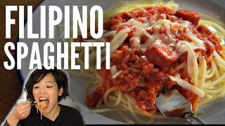FILIPINO SPAGHETTI Jollibee Inspired Pinoy Recipe