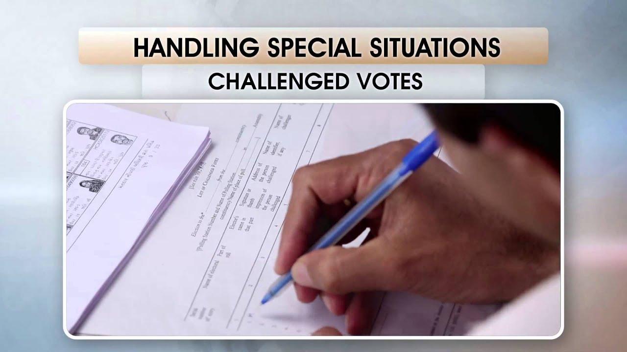 Challenged Votes