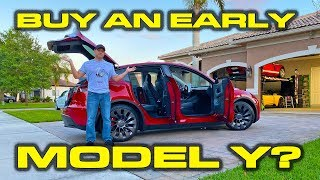 Should you buy an early Tesla Model Y? * Detailed Features, Fit, Finish and Paint Review