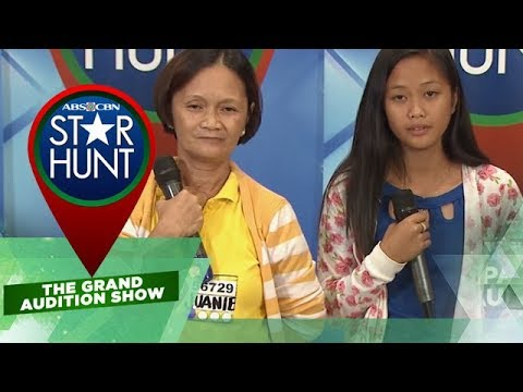 Star Hunt The Grand Audition Show: Mom Juanie brings her daughter Judy in audition | EP 52