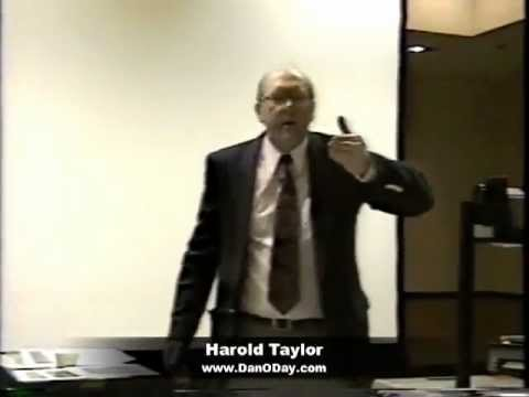 "FUNNY TIME MANAGEMENT VIDEO - HAROLD TAYLOR ""At Work Early"""