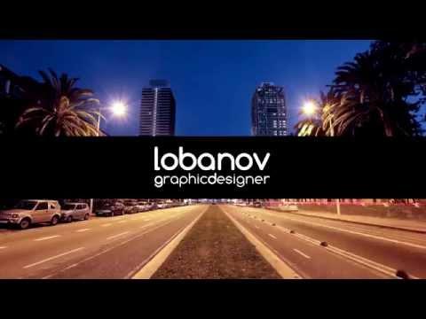 Lobanovgd - графический дизайнер, дизайн логотипа, фирменный стиль, создание сайта.