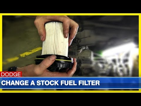 change a fuel filter on 2000 2002 dodge cummins youtube Dodge Diesel Fuel Line Replacement