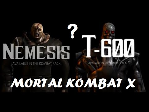 mortal kombat x nemesis amp t600 youtube