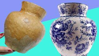 😱Como Imitar Porcelana con Cartapesta