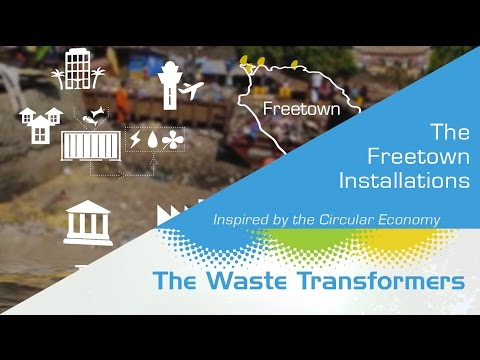 The Waste Transformers and Masada Waste Management clean up Freetown
