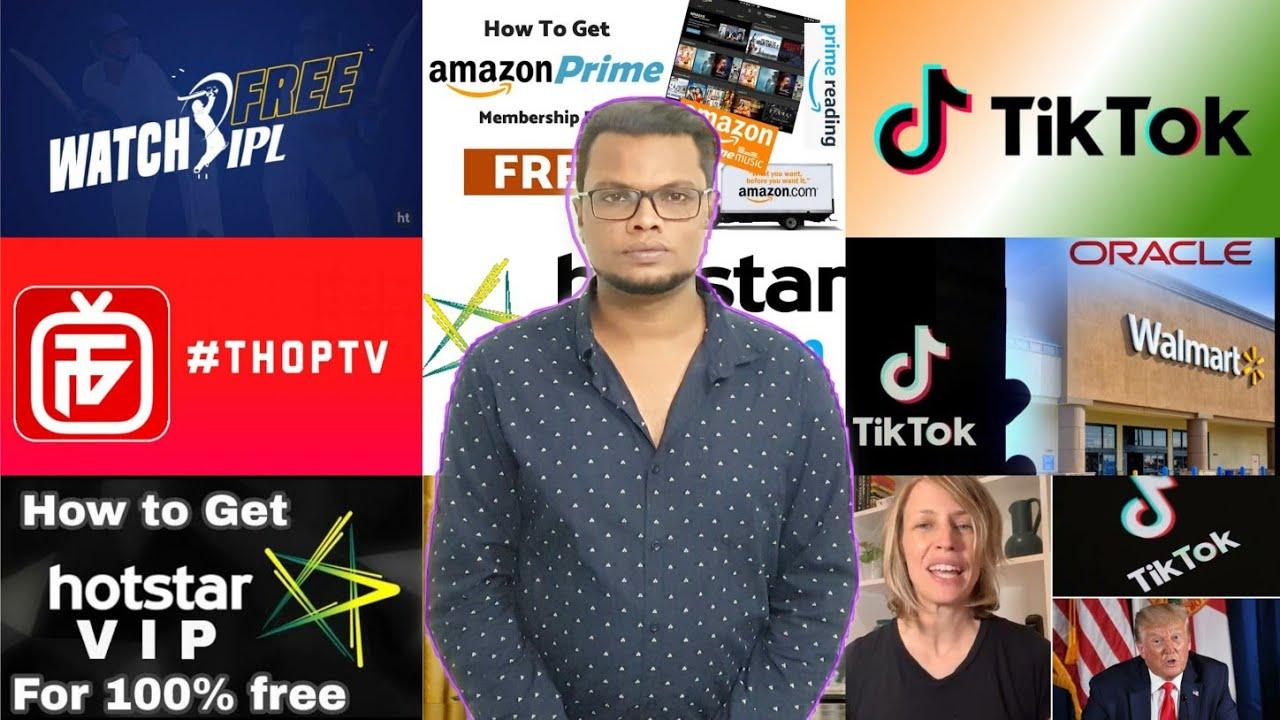 TikTok stores data outside China, Watch Free ipl, 3000+ TV channels, hotstar, web series, tv serials