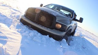 4X4 WITH LIFTED TRUCKS | GOT STUCK | COPS CALLED