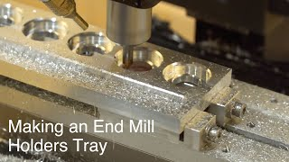 Making an End Mill Holders Tray // Simple CNC Project