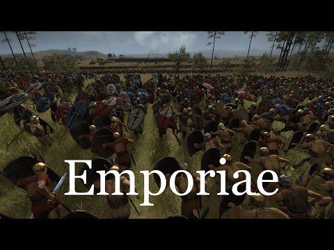 Batalla de Emporiae - Recreación histórica - Rome II: Total War