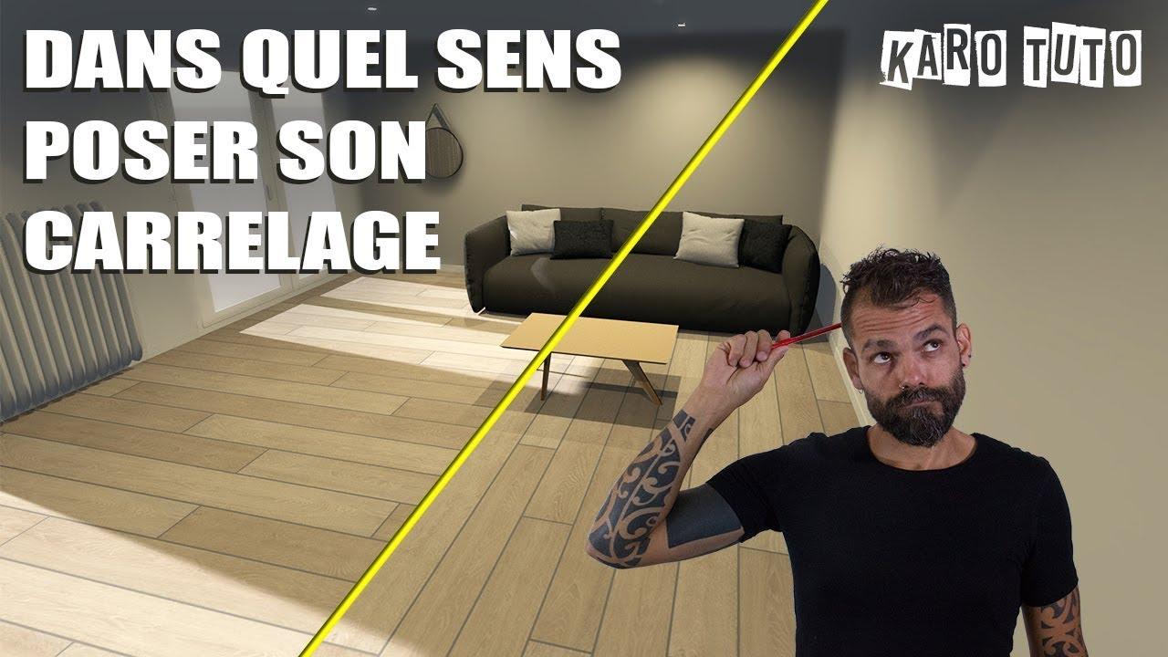 Quel Sens Poser Le Parquet Flottant where to place tile?