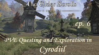 The Elder Scrolls Online - Cyrodiil PVE Questing (Ep. 6) The Aldmeri Dominion - Dark Elf Battlemage