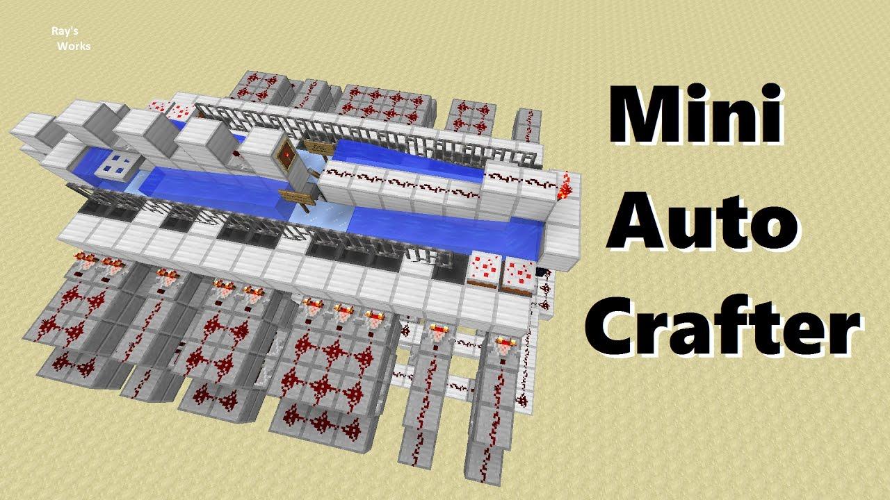 minecraft crafting observer