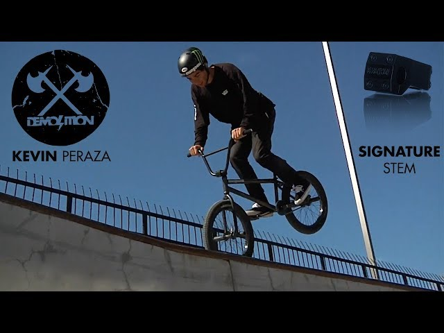 DEMOLITION BMX: Kevin Peraza Signature Stem Commercial