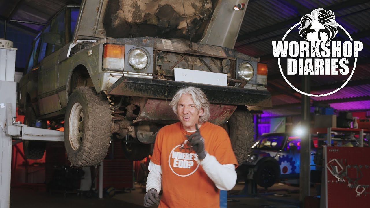Download 1986 Range Rover, rusty fuel tank fix, Part 2 - Edd China's Workshop Diaries