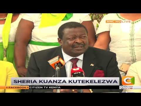 Musalia Mudavadi wants MPs to impeach 'errant' Cabinet Secretaries