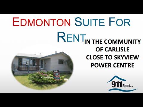 Basement Suite for Rent in Edmonton