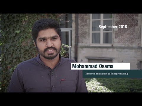 One year at AMS - Before & After – Mohammad Osama, Master in Innovation & Entrepreneurship
