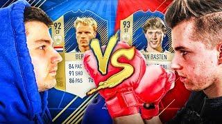 BITWA IKON vs JUNAJTED! BERGKAMP PRIME VS VAN BASTEN PRIME!   FIFA 18