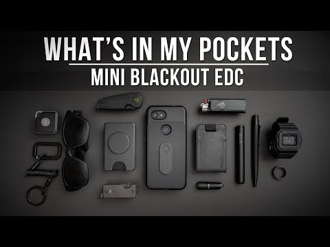 What's In My Pockets Ep. 10 - Mini Blackout EDC (Everyday Carry) - Boundary Supply Chase Pants