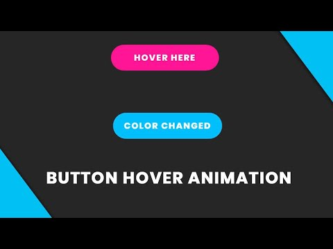 CSS Button Hover Animation | Css Button Hover Effect