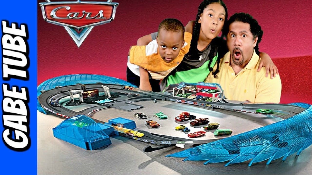 top toys for christmas 2017 disney cars 3 ultimate florida speedway biggest cars track gabe tube tv