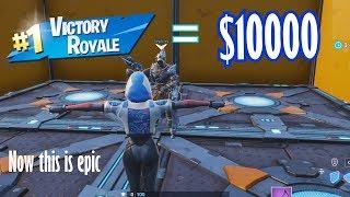 I bet my friend $10000 to beat me in Dropper (Fortnite Creative)