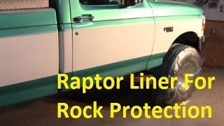 Raptor Liner - Rock Protection