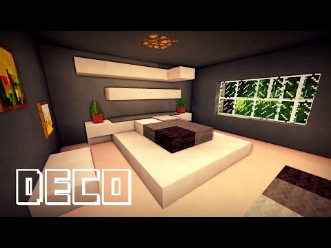 MINECRAFT : CREER UNE CHAMBRE MODERNE