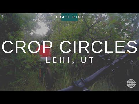Crop Circles Loop Trail   Orem, UT   Mountain Biking