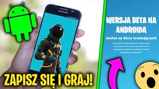 🔥 SUBSCRIBE to the BETA TEST FORTNITE MOBILE now! 🔥