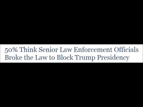 50% Now Think #DeepState Broke Law To Block Trump Presidency (Limbaugh)