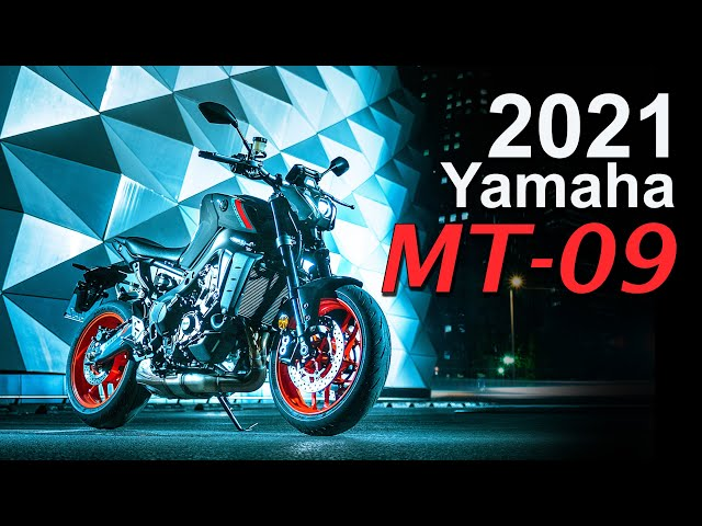 2021 Yamaha MT-09 Update | Lighter | More Power & Tech