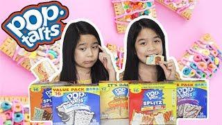 POP TARTS CHALLENGE | Tran Twins