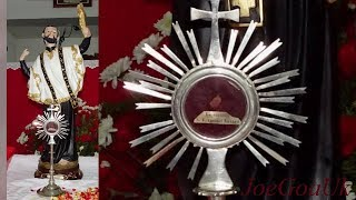 SFX Novena, Salves and Blessing of the Saint's bone relic. Bhatpal