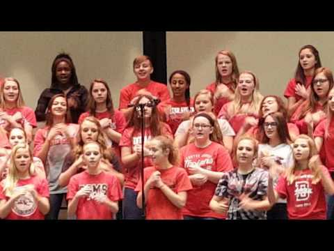 Center Grove Middle School North Spring Concert #2