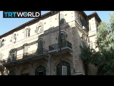 Historic Aleppo Hotel: Damaged hotel forced to close five years ago