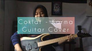 Cokelat - Karma (Live Studio Session) Guitar Cover by Delvi