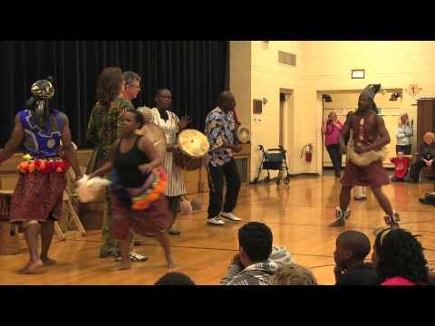 North Texas African Drum Tour 2013