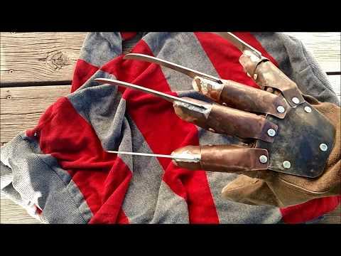 making a real freddy krueger glove