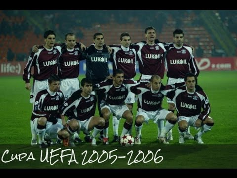 FC Rapid Bucharest 2005-2006 Uefa Cup Season !