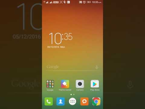 How to import lenovo vibe k5 note theme from internet