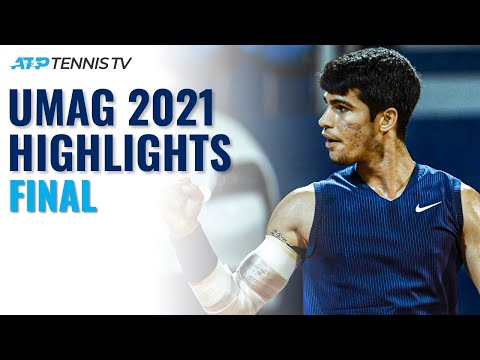 18-Year-Old Carlos Alcaraz Wins First ATP Title! | Umag 2021 Final Highlights vs Gasquet