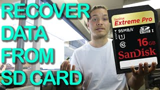 SD card fix – corrupted sd card recovery