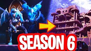 SEASON 6 DATE ANNOUNCED!! THERE WILL BE A CASTLE IN FORTNITE!! BUNKER SOUND LEAKED!