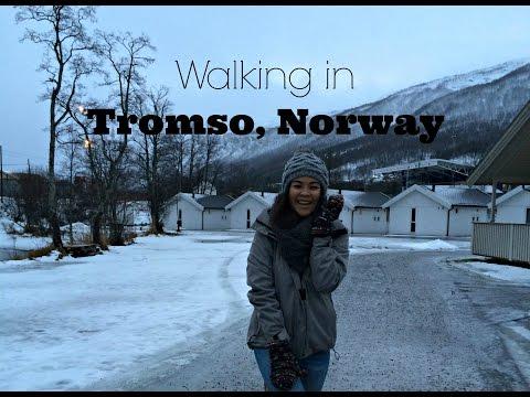 Walking in Tromso, Norway