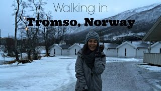 walking in tromso norway