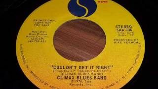 "Climax Blues Band ""Couldn"