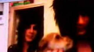 Andy Biersack and Jake Pitts from Black Veil Brides on Stickam