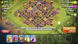 Clankrieg macht Müde - Clash of Clans #55 [Deutsch/German]